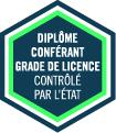 logo grade licence Contrôlé par Etat