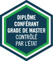 logo conférant grade de master contrôlé par l'Etat