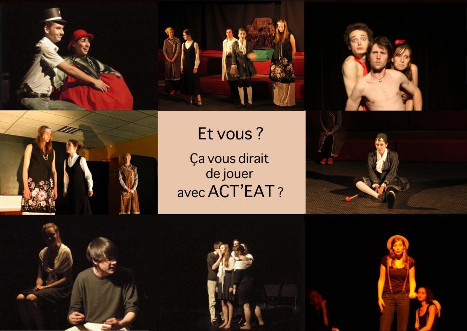 Photos de plusieurs représentations de l'atelier