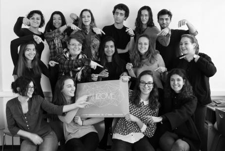 Equipe 2016-2017 de la Junior Entreprise RHIZOME