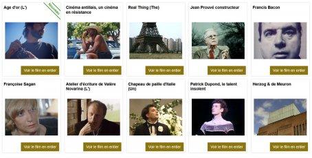 Sélection de films documentaires Images de la Culture