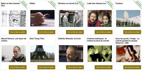 Sélection de films documentaires sur l'architecture