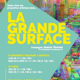 La grande surface Cie Jeanne Simone