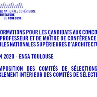 information recrutements enseignants juin 2020