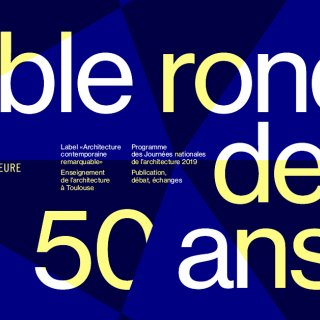 Table ronde des 50ans de l'ENSA Toulouse