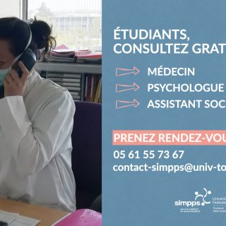 LE SERVICE INTERUNIVERSITAIRE DE MÉDECINE RESTE À L'ÉCOUTE DES ÉTUDIANTS
