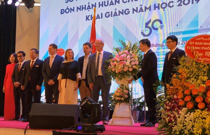 anniversaire 50 ans HAU Hanoï