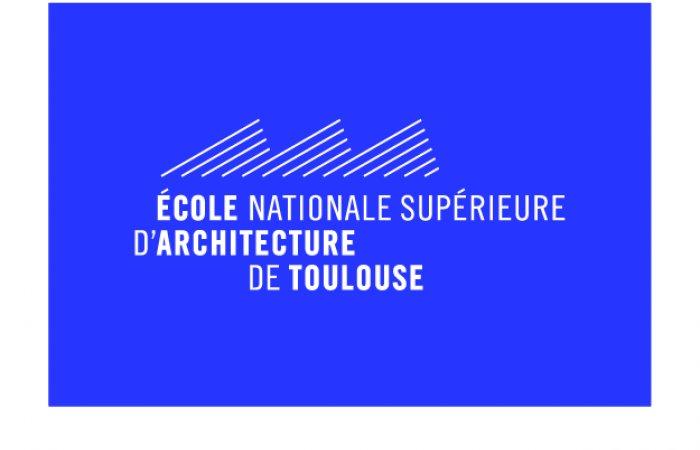 logo sur fond bleu