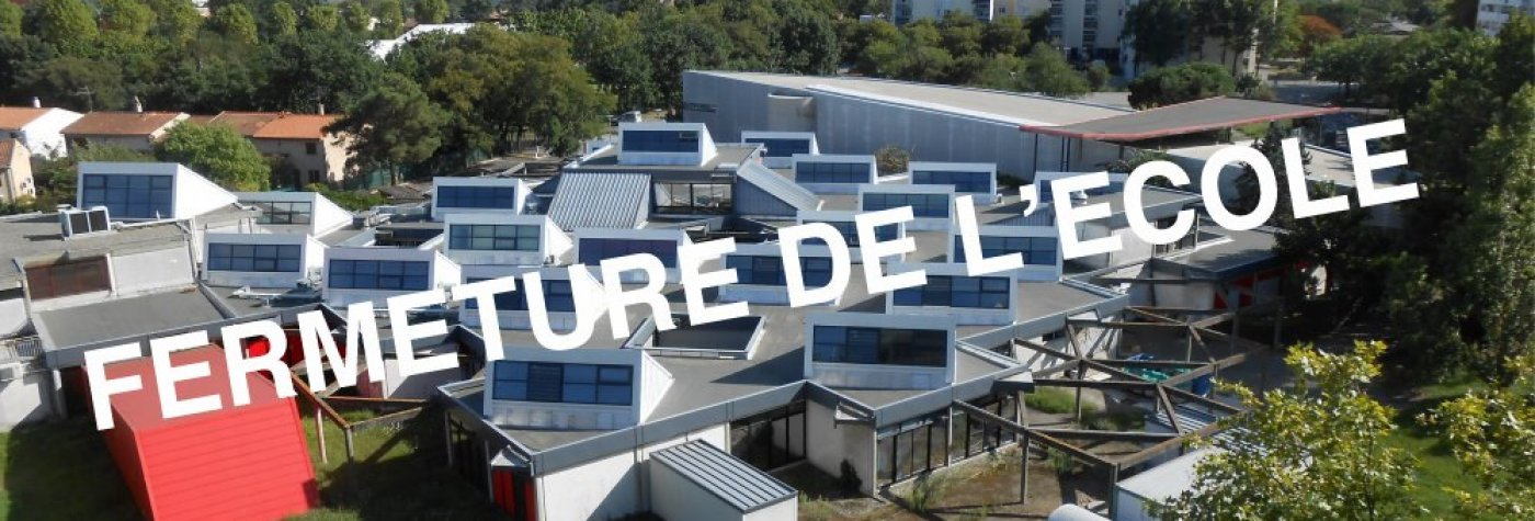 Toulouse school of architecture is closed