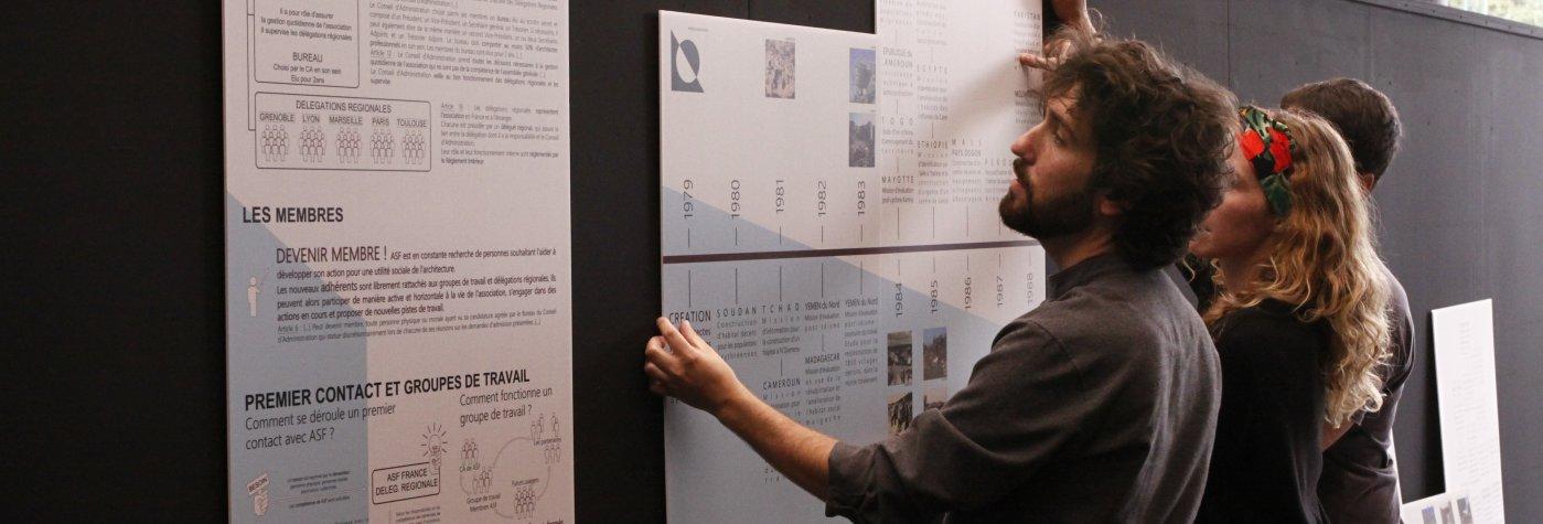 exposition installation