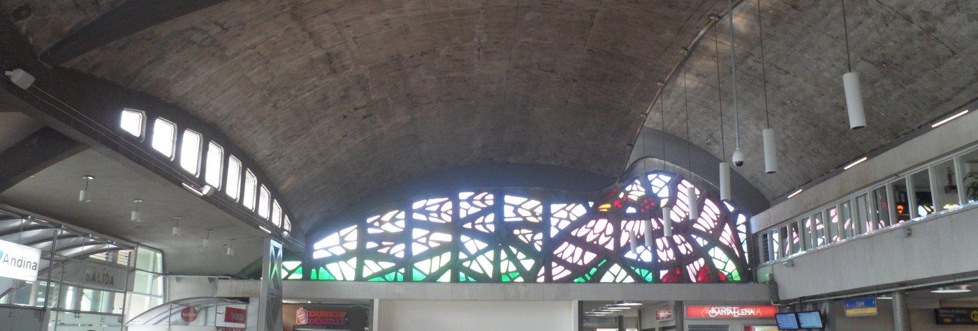 Structures laminaires dans le paysage de l'architecture colombienne du XXème siècle