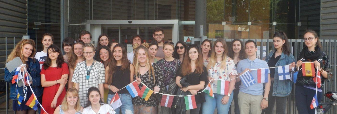 Etudiants partants en Erasms sur l'année 2017-2018